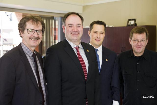 Le directeur général des Sénateurs d'Ottawa, Pierre Dorion... (Martin Roy, LeDroit)