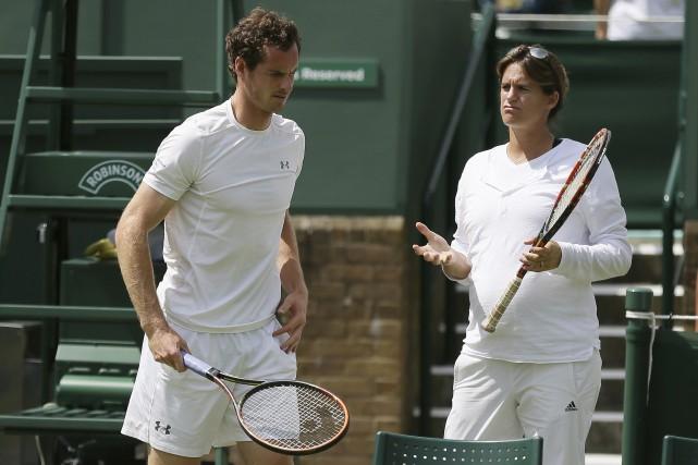 Andy Murray était devenu le premier joueur de... (archives Associated Press)
