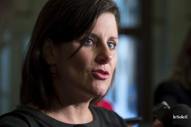 La ministre de la Justice du Québec, Stéphanie... (Photothèque Le Soleil)