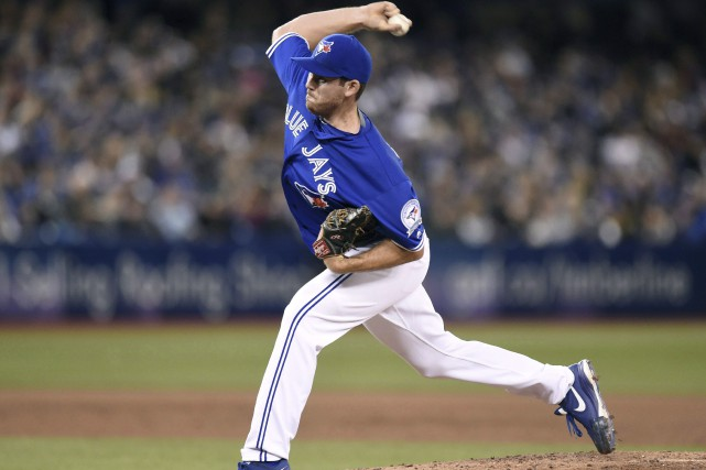 Joe Biaginides Blue Jays de Toronto, a grandi... (La Presse Canadienne, Frank Gunn)