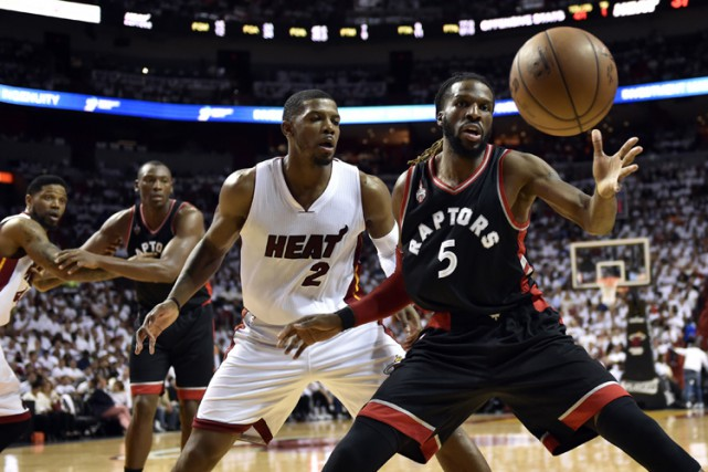 Dwyane Wade a inscrit 30 points et le Heat de Miami a défait les Raptors de... (PHOTO REUTERS)