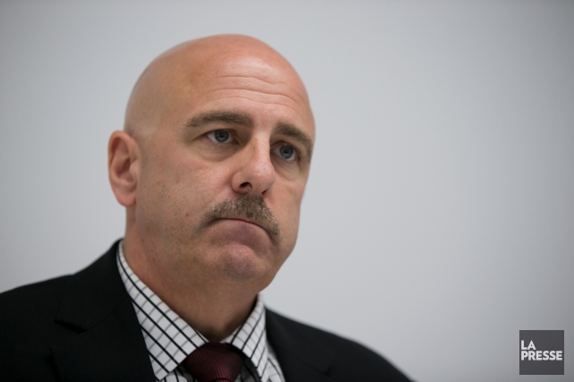 Le sous-commissaire Mike Cabana, patron des enquêtes de... (PHOTO FRANÇOIS ROY, LA PRESSE)