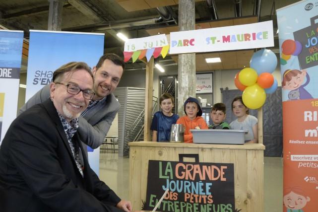 Le coordonnateur de la Communauté entrepreneuriale de Shawinigan,... (Sylvain Mayer, Le Nouvellliste)