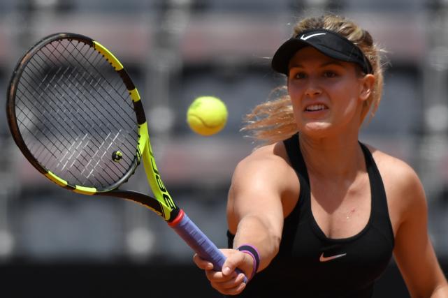 Eugenie Bouchard a défait Jelena Jankovic en trois... (Photo Tiziana Fabi, AFP)