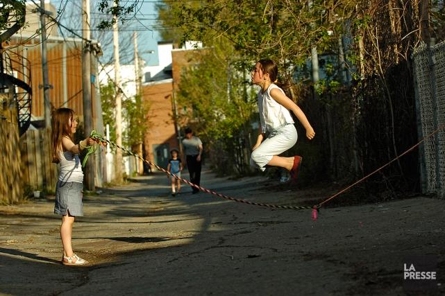 Les ruelles sont des milieux de vie qui... (Archives La Presse, Patrick Sanfaçon)