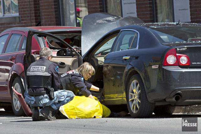 Quand les policiers sont arrivés, l'homme était inconscient... (Photo Patrick Sanfaçon, La Presse)