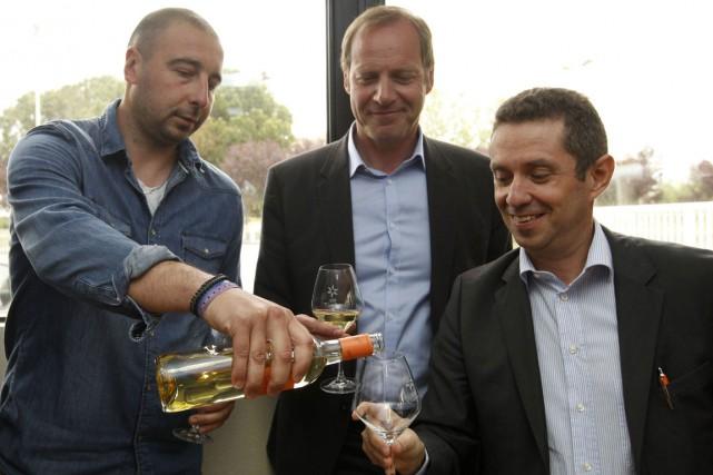 Le directeur général du Tour de France, Christian... (PHOTO AFP)