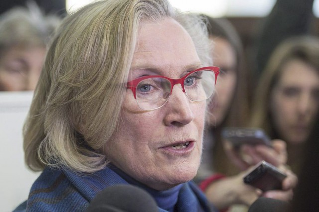 La ministre canadienne des Affaires autochtones, Carolyn Bennett... (Photo Andrew Vaughan, archives La Presse Canadienne)