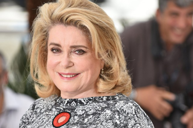 Catherine Deneuve au Festival de Cannes en 2015.... (Photo archives AP)