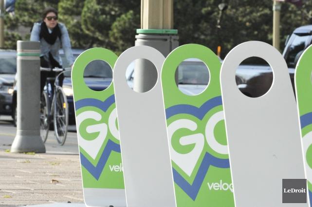 Les vélos libre-service VéloGo seront de retour dans la région de la capitale,... (Archives LeDroit)