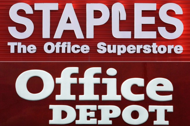 Le rachat d'Office Depot par Staples, annoncé en... (PHOTO ARCHIVES AP)