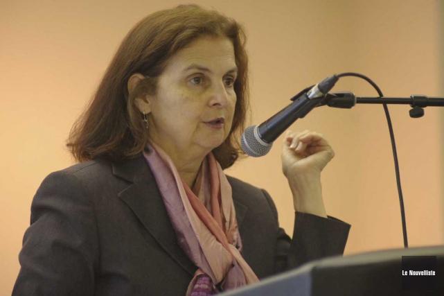 La Consule générale des États-Unis, Nina Maria Fite.... (Sylvain Mayer, Le Nouvelliste)