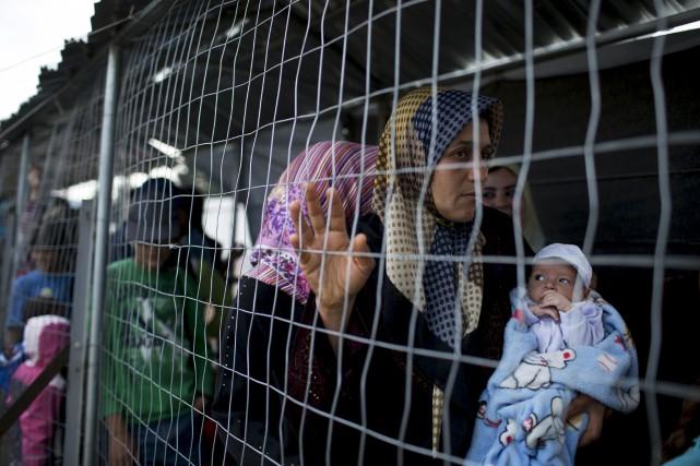La Syrie, le Yémen et l'Irak comptabilisent plus... (AP, Petros Giannakouris)