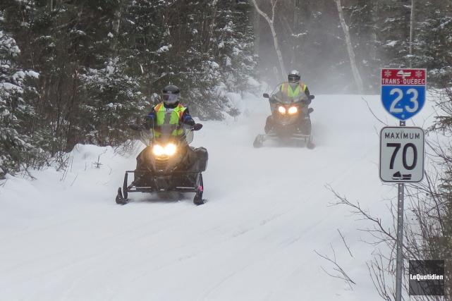 Tourisme Saguenay-Lac-Saint-Jean dresse un bilan hivernal positif grâce aux... (Archives Le Quotidien)