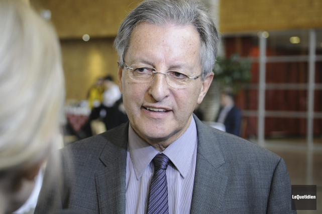 Le maire de Saguenay, Jean Tremblay... (Photo Le Quotidien, Mariane L. St-Gelais)