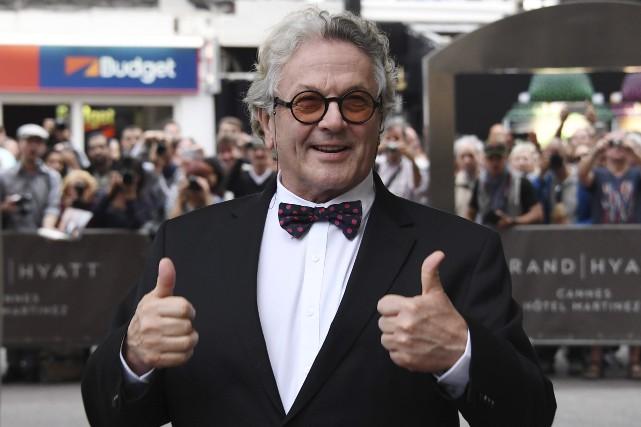 Le réalisateur australienGeorge Miller... (AFP, Anne-Christine Poujoulat)