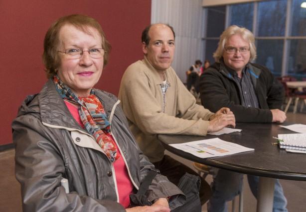 Françoise Turcotte, Jacques Gagnon et Jean Gauthier, membres... (Spectre Média, Frédéric Côté)
