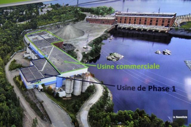 La phase 1 du projet de Nemaska Lithium... (Sylvain Mayer, Le Nouvelliste)