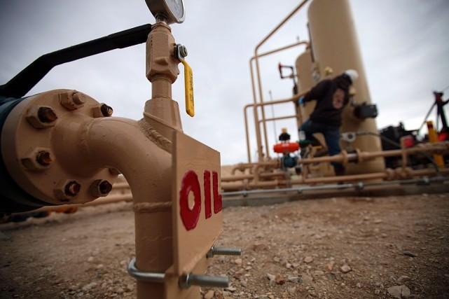 Les cours pétroliers sont nettement montés mercredi, finissant au plus haut de... (Photo Jim Wilson, archives The New York Times)