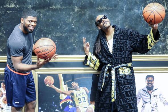 P.K. Subban et le rappeur Snoop Dogg... (tirée d'Instagram)