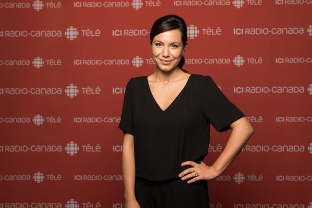 Dans District 31, Magalie Lépine-Blondeau incarnera Nadine Meilleur,... (PHOTO FOURNIE PAR RADIO-CANADA)