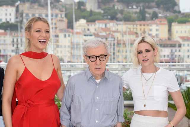 Blake Lively, Woody Allen et Kristen Stewart ont... (PHOTO AFP)