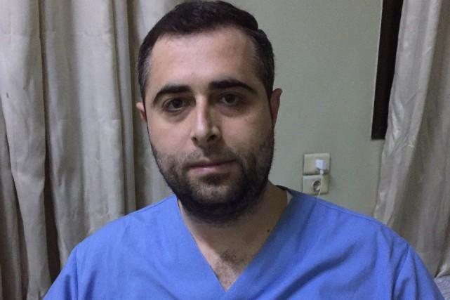 Le Dr Osama Abo El Ezz, 32 ans,... (Photo fournie par Osama Abo El Ezz)
