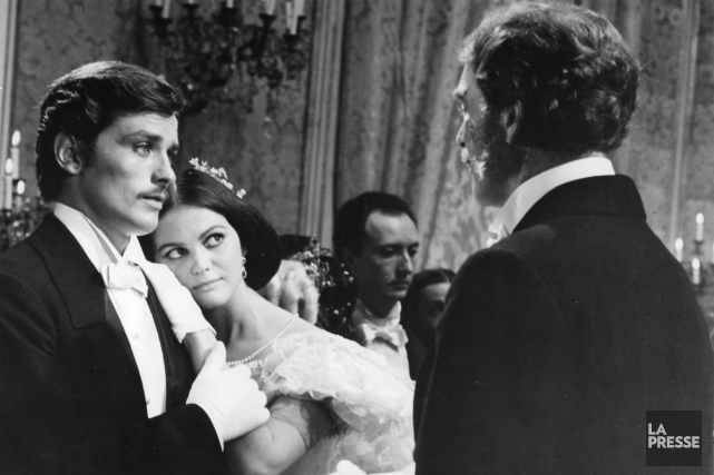 Le guépard met en vedette Alain Delon, Claudia... (PHOTO ARCHIVES LA PRESSE)