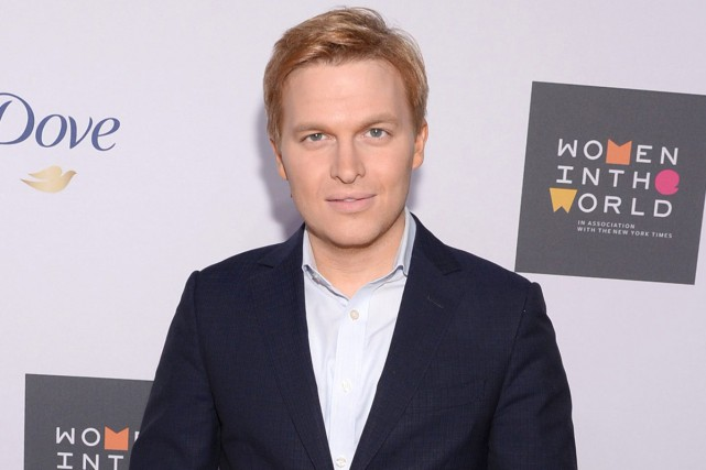 Ronan Farrow, fils de Woody Allen et Mia... (PHOTO ARCHIVES AP)