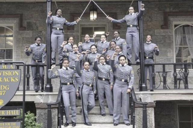 La prestigieuse académie militaire américaine de West Point,... (Twitter via Associated Press)