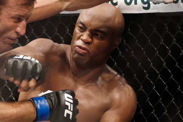 Anderson Silva... (Photo Felipe Dana, archives AP)