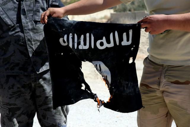 Après avoir perdu Palmyre le 27 mars, l'EI... (PHOTO AFP)