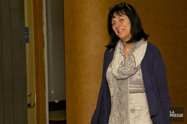 Jocelyne Therrien a étélibérée mercredi matin de tous... (PHOTO DAVID BOILY, LA PRESSE)