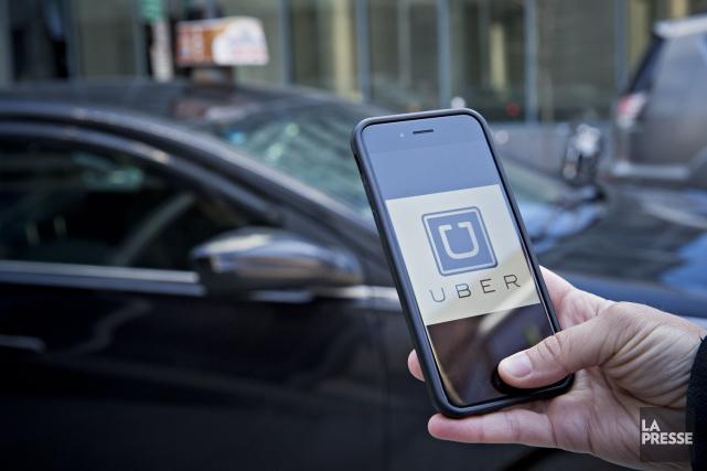 Uber contestait la validité d'une saisie menée par... (Photothèque La Presse, Patrick Sanfaçon)