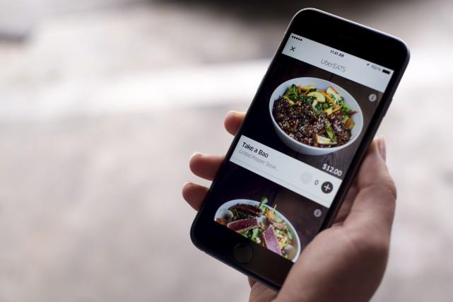 Uber dit «bon appétit» à ses utilisateurs de la capitale fédérale depuis... (Courtoisie)