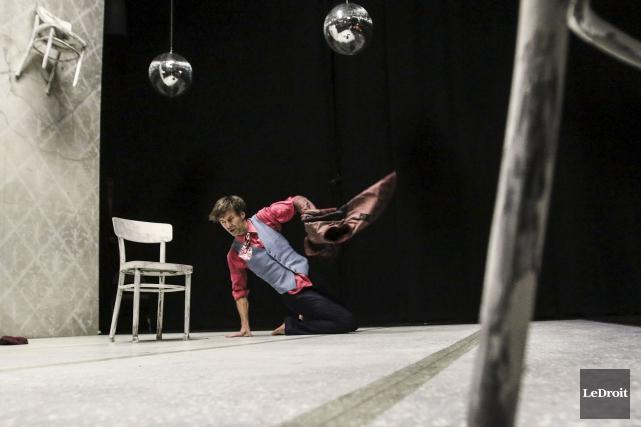 Noam Gagnon présente This Crazy Show à la... (Patrick Woodbury, LeDroit)