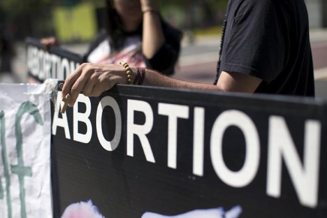Les législations anti-avortement ne réduisent pas le nombre... (PHOTO REUTERS)