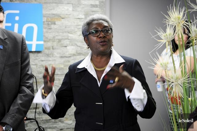 Régine Laurent, présidente de la Fédération interprofessionnelle de... (Photothèque Le Soleil)