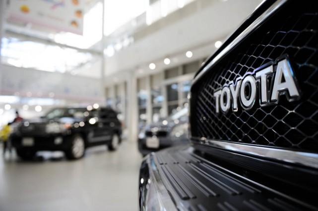Le géant mondial Toyota Motor prévoit que lors de l'année financière qui... (Bloomberg)