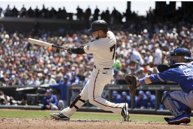 Les Giants de San Francisco l'emportent sur les... (The Associated Press)