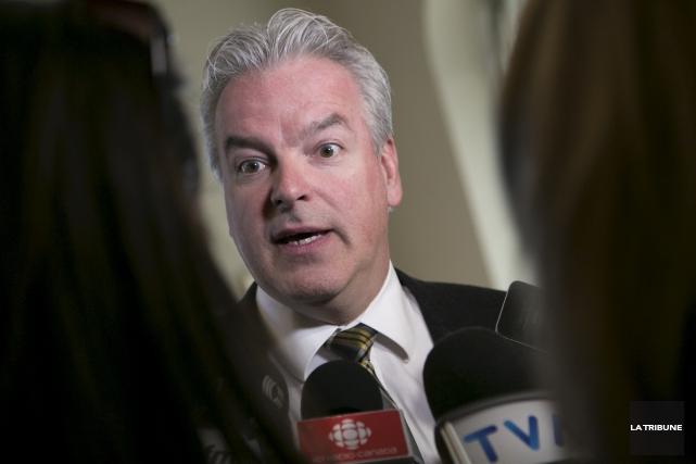 Le maire de Sherbrooke Bernard Sévigny succède à... (Archives, La Tribune)