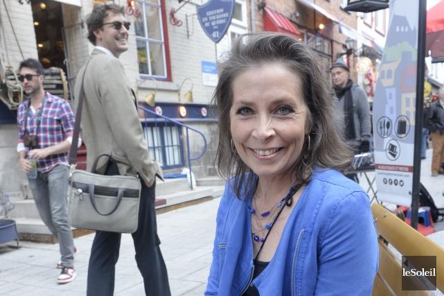La réalisatrice Isabelle de Bloisa fait son documentaire... (Le Soleil, Jean-Marie Villeneuve)