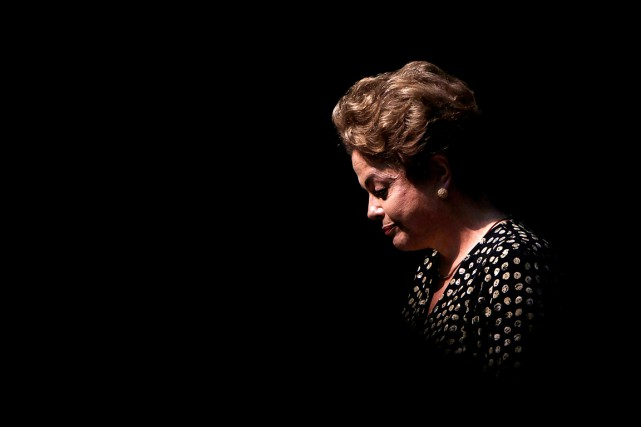 La présidente brésilienne DilmaRousseff, 68 ans, a été... (Photo Ueslei Marcelino, archives Reuters)