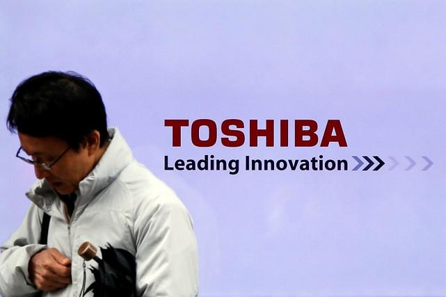 Toshiba espère que sa stratégie de concentration sur... (Photo Toru Hanai, Reuters)