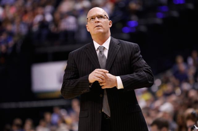 L'entraîneur-chef du Magic d'Orlando, Scott Skiles.... (Photo AJ Mast, AP)