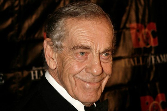 Morley Safer en 2008.... (PHOTO ARCHIVES AP)