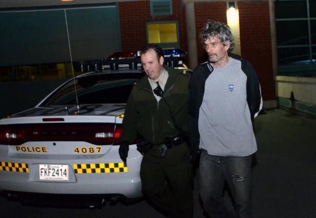 Jocelyn Lamonde a été arrêté après les événements... (Photo collaboration spéciale Éric Beaupré)