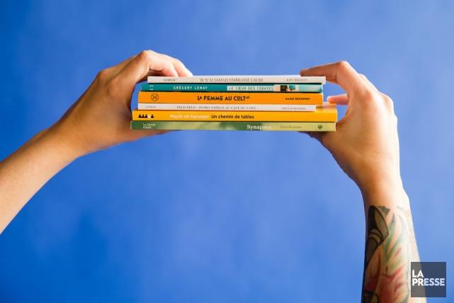 Ils comptent tous moins de 120 pages, ont le sens de l'image qui parle et de... (PHOTO FRANÇOIS ROY, LA PRESSE)