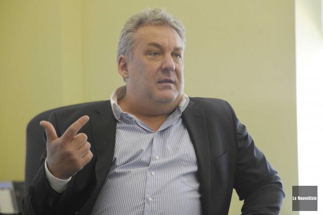 Le directeur général d'IDE Trois-Rivières, Mario De Tilly,... (Photo: Sylvain Mayer Le Nouvelliste)