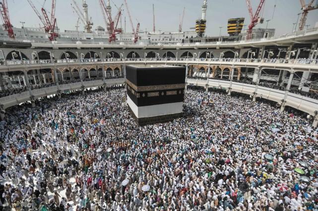 Le royaume «accueille tous les pèlerins d'où qu'ils... (PHOTO AP)